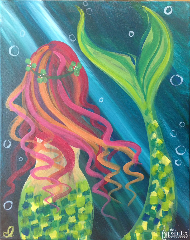 The painted cabernet a paint sip studio santa barbara for Fairy painting easy